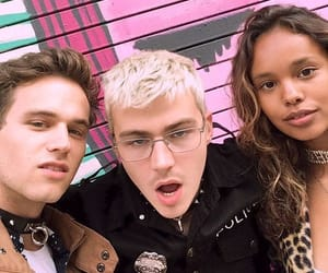 alisha boe, 13 reasons why, and miles heizer image