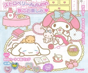 sanrio, magazine, and pink image