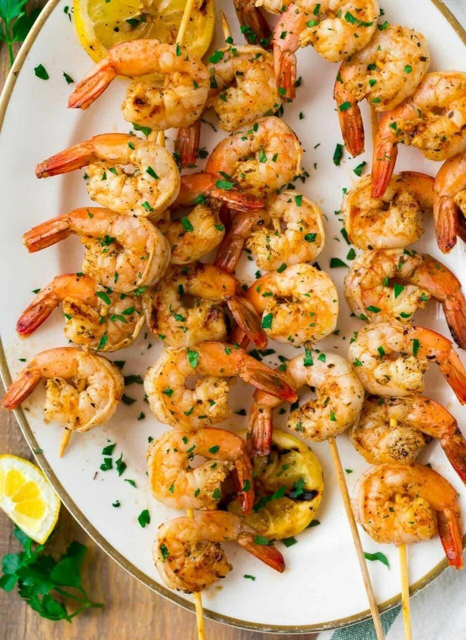 food, sea food, and lemon image