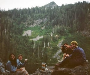outdoors, tea, and camp image