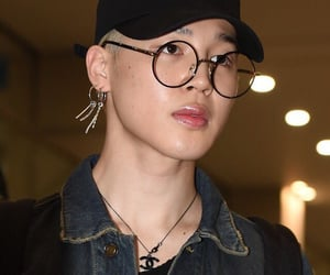 airport, glasses, and bts image