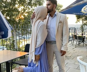 aesthetic, hijab, and marriage image