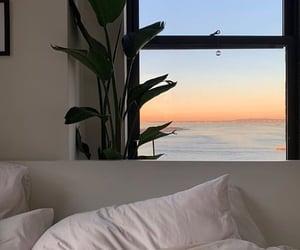 home, house, and sea image