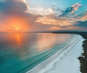 atardecer, naturaleza, and playa image