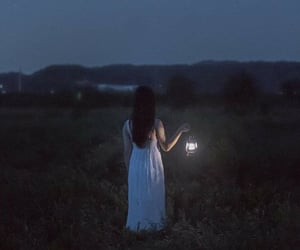 alone, girl, and melancholy image