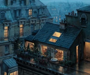 paris, city, and house image