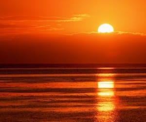 небо, красиво, and солнце image