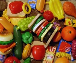 childhood, food, and toys image