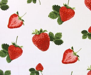 strawberry, background, and fruit image