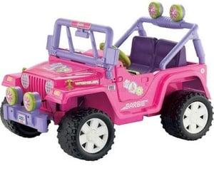barbie, childhood, and jeep image