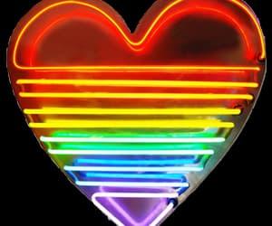 heart and rainbow image