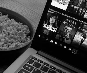 black and white and netflix image