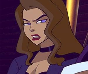 brownhair, cartoon, and female image
