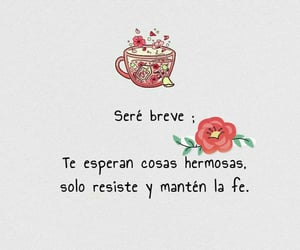fe, fuerza, and frases español image