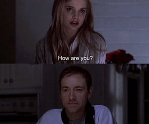 american beauty, kevin spacey, and mena suvari image