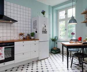 kitchen, home, and interior design image