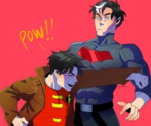 batman, pow, and robin image