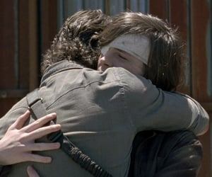 apocalypse, carl grimes, and father son image