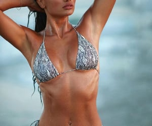 bikini, model, and hot body image