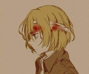 anime, anime boy, and armin image