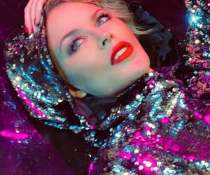 girl, kylie minogue, and wow image