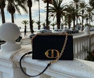 bag, Christian Dior, and purse image