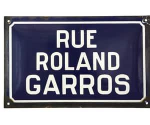 etsy, road signage, and roland garros image