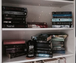 aesthetic, black, and book image
