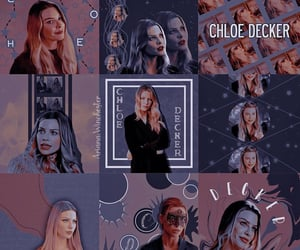 aesthetic, graphic, and chloe decker image