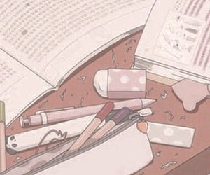 anime, pink, and aesthetic image