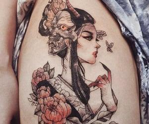 art, tattoo, and tattoo idea image