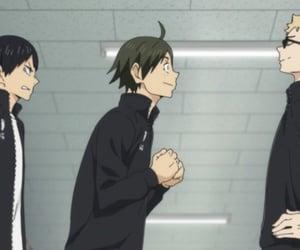anime, haikyuu, and tsukishima kei image