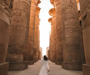 egypt, egyptian architecture, and faceless image