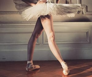 ballerina, ballet, and shoes image