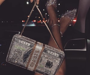 money, bag, and luxury image