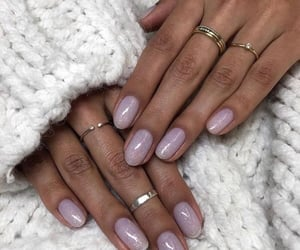 beauty, glitter, and lavender image