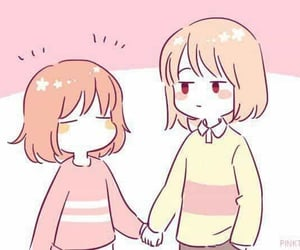 chara, charisk, and frisk image