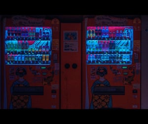 drinks, japan, and neon image