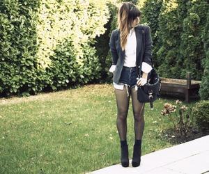bag, blazer, and boots image