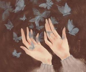 черный, красиво, and руки image