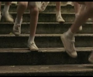 legs, steps, and running image