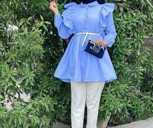 light blue hijab tunic image