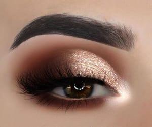 eyeshadow, eye, and makeup image