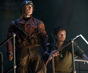 captain america, bucky barnes, and Marvel image