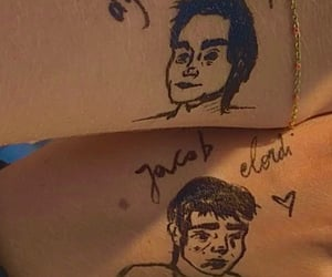 art, tattoo, and dylanobrien image