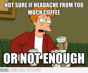 funny and coffee image