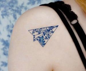 azul, belleza, and tattoo image