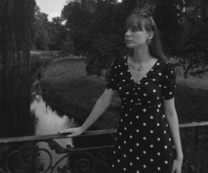 bangs, black&white, and bw image