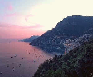 summer, sunset, and travel image