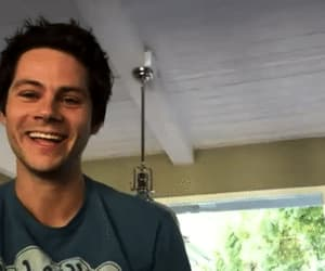 dylan, gif, and smiling image